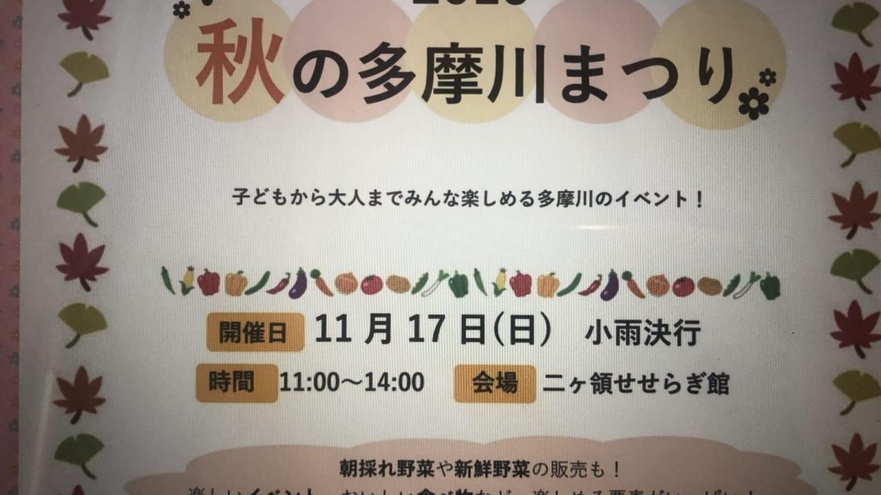 秋の多摩川祭り2019(2019年撮影)