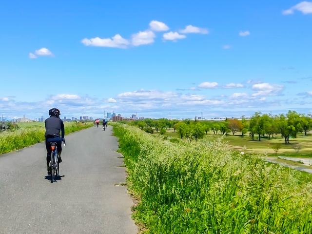 サイクリングロードイメージ